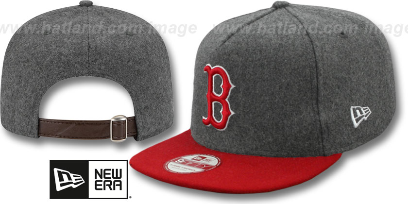 Boston Red Sox-Melton Snapback Hat SF 12