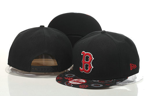 Boston Red Sox Snapback Black Hat GS 0620