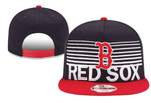 Boston Red Sox Snapback Black Hat XDF 0620