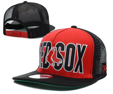 Boston Red Sox MLB Snapback Hat SD1