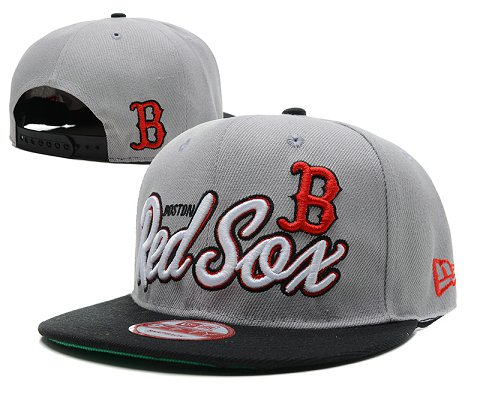 Boston Red Sox MLB Snapback Hat SD2