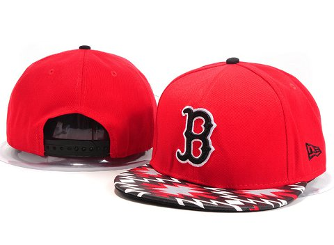 Boston Red Sox MLB Snapback Hat YX078