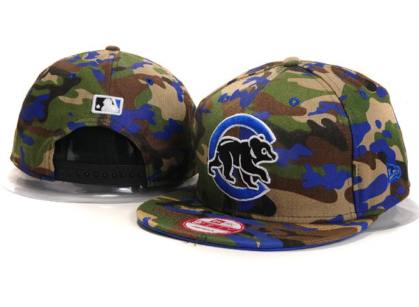 Chicago Cubs Snapback Hat YS 5605