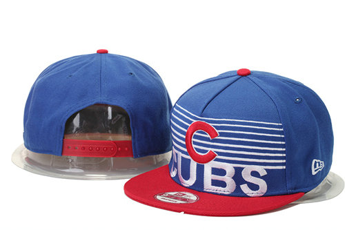 Chicago Cubs Snapback Blue Hat GS 0620