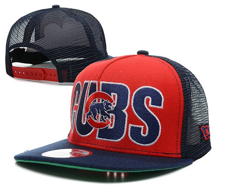 Chicago Cubs MLB Snapback Hat SD1