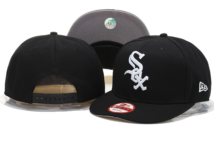Chicago White Sox Snapback Hat YS M 140802 03
