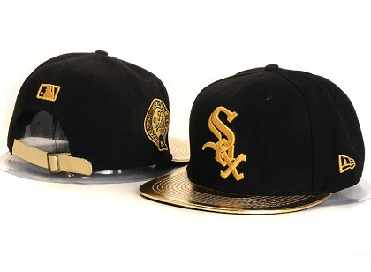 Chicago White Sox New Type Snapback Hat YS 87J10