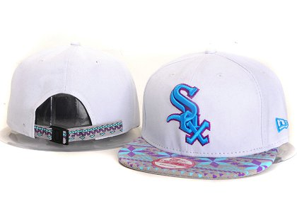 Chicago White Sox New Type Snapback Hat YS9T06
