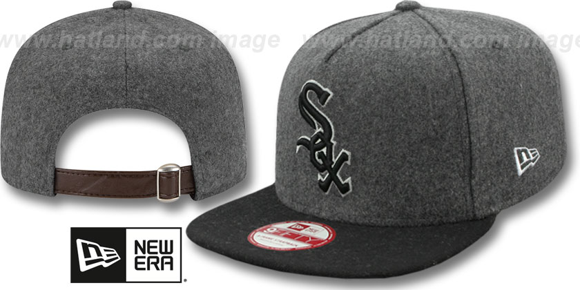 Chicago White Sox-Melton Snapback Hat SF 12