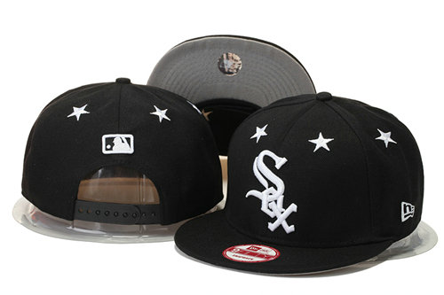 Chicago White Sox Snapback Black Hat 1 GS 0620