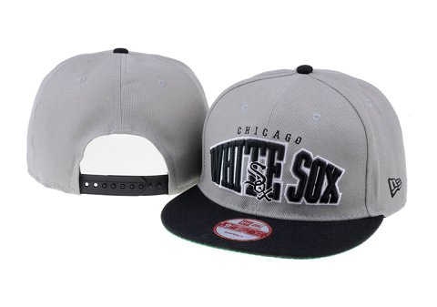Chicago White Sox MLB Snapback Hat 60D1