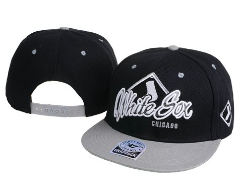 Chicago White Sox MLB Snapback Hat 60D4