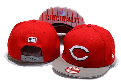 Cincinnati Reds Red Snapback Hat YS 0528