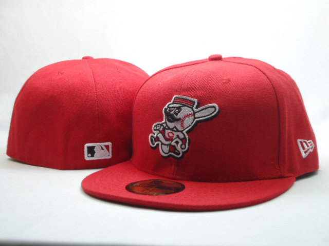 Cincinnati Reds Red 59FIFTY Hat SF