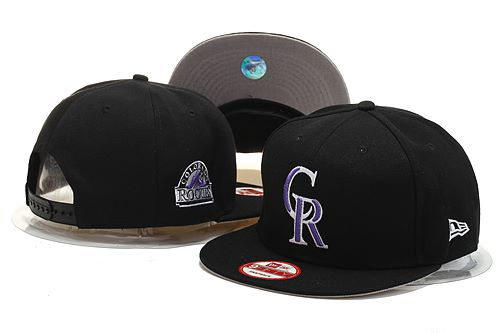 Colorado Rockies Snapback Hat YS 140812 25