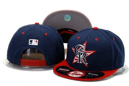 Colorado Rockies Snapback Hat YS M 140802 23