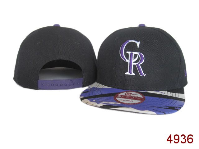 Colorado Rockies Snapback Hat SG 3816