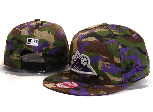 Colorado Rockies Snapback Hat YS 203