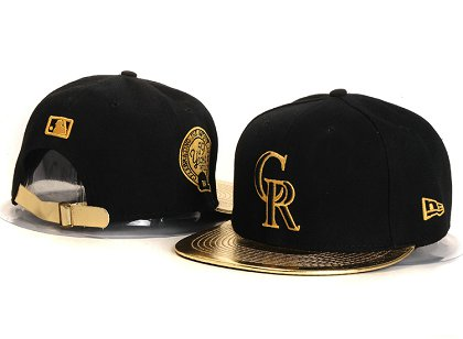 Colorado Rockies New Type Snapback Hat YS 87J09