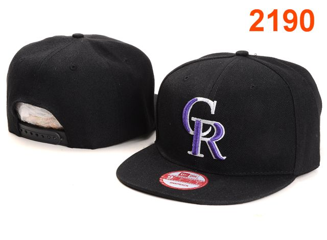 Colorado Rockies MLB Snapback Hat PT038