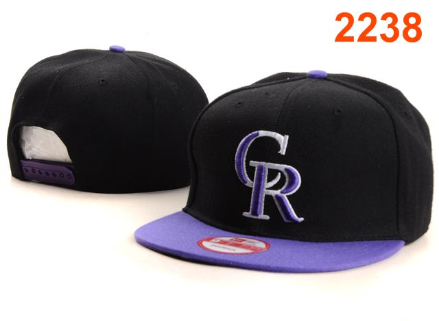 Colorado Rockies MLB Snapback Hat PT076