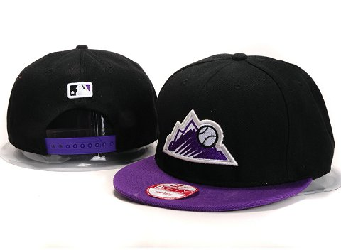 Colorado Rockies MLB Snapback Hat YX109