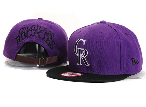 Colorado Rockies MLB Snapback Hat YX123