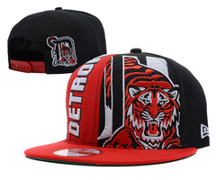 Detroit Tigers MLB Snapback Hat SD09