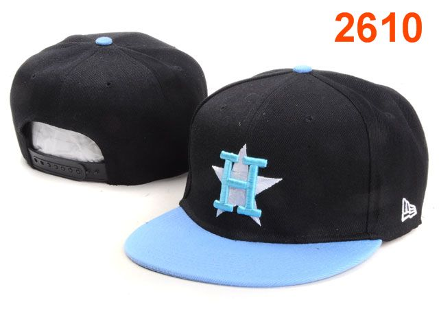 Houston Astros MLB Snapback Hat PT142