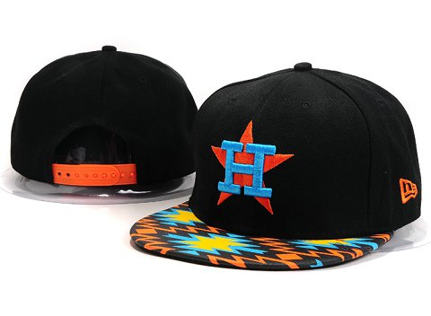 Houston Astros MLB Snapback Hat YX094