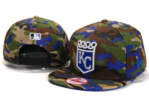 Kansas City Royals Snapback Hat YX 8305