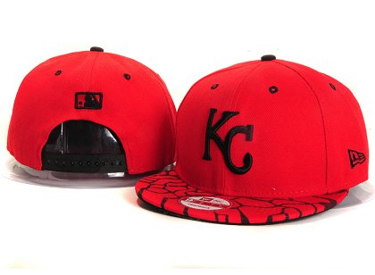 Kansas City Royals New Snapback Hat YS 4A01