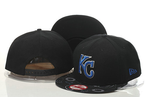Kansas City Royals Snapback Black Hat GS 0620