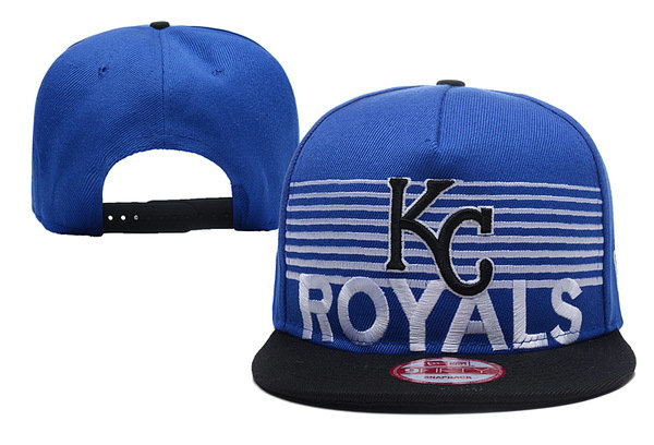 Kansas City Royals Snapback Hat XDF 0620