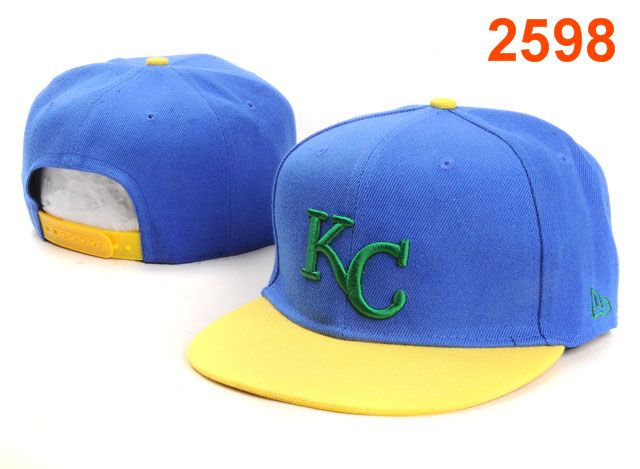 Kansas City Royals MLB Snapback Hat PT130