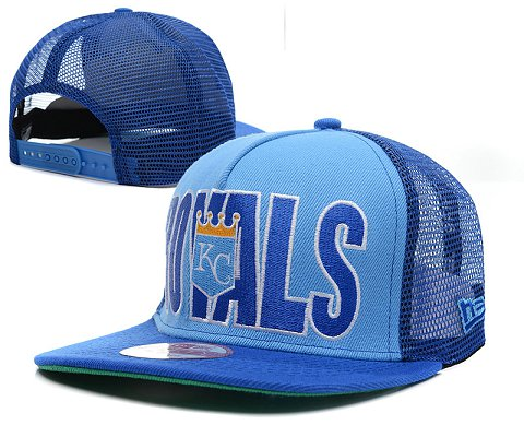 Kansas City Royals MLB Snapback Hat SD1