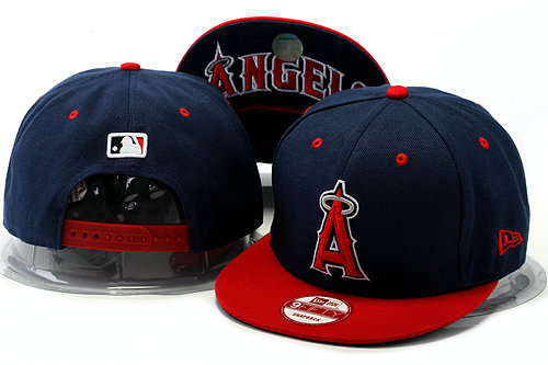 Los Angeles Angels Blue Snapback Hat YS 0528