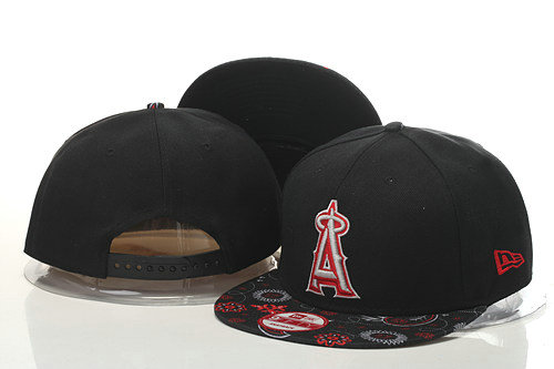 Los Angeles Angels Snapback Black Hat GS 0620