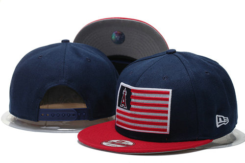 Los Angeles Angels Snapback Navy Hat GS 0620