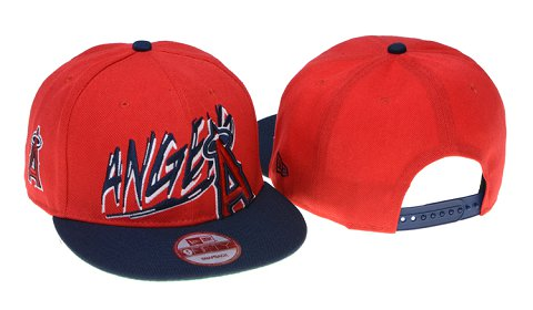 Los Angeles Angels MLB Snapback Hat 60D5