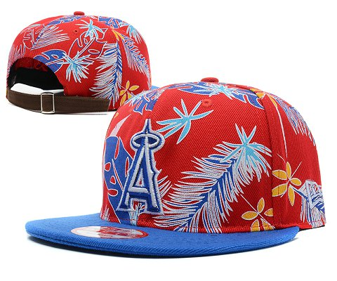 Los Angeles Angels MLB Snapback Hat SD 2