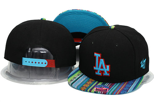 Los Angeles Dodgers Snapback Hat YS 0701