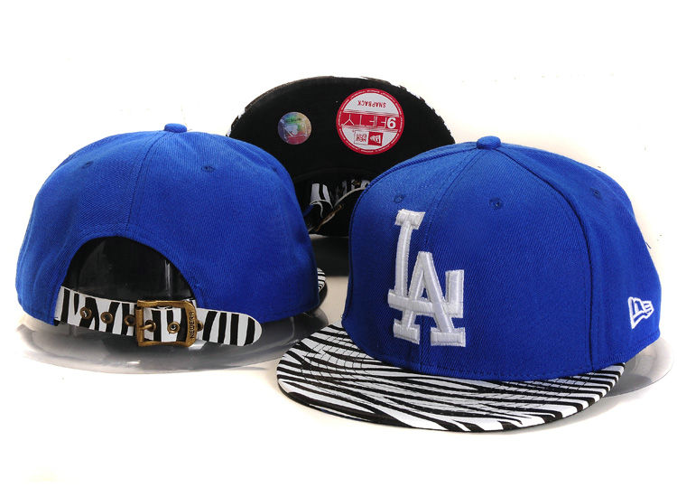 Los Angeles Dodgers Blue Snapback Hat YS
