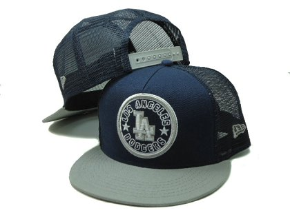 Los Angeles Dodgers Snapback Hat SF 140802 04
