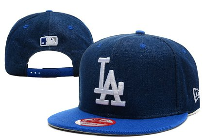 Los Angeles Dodgers Snapback Hat XDF 140802-08