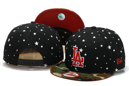 Los Angeles Dodgers Snapback Hat YS M 140802 12