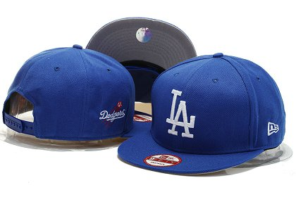 Los Angeles Dodgers Snapback Hat YS M 140802 16