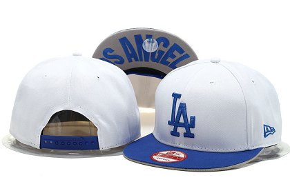 Los Angeles Dodgers Snapback Hat YS M 140802 24