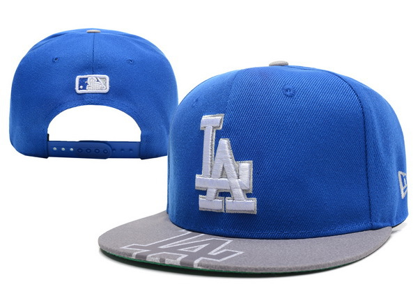 Los Angeles Dodgers Blue Snapback Hat XDF 0512