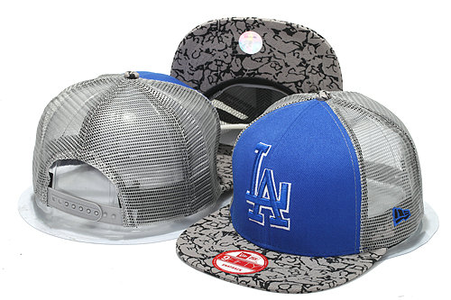 Los Angeles Dodgers Mesh Snapback Hat YS 0512